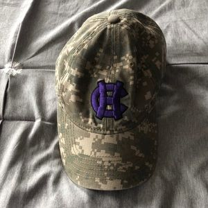 Camouflage hat - College of the Holy Cross